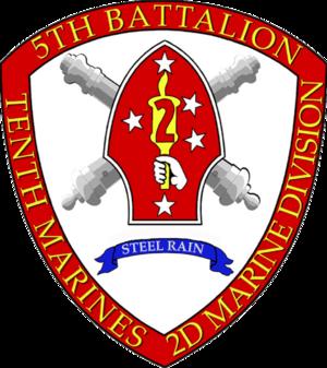 5th Battalion, 10th Marines - 5/10 Insignia