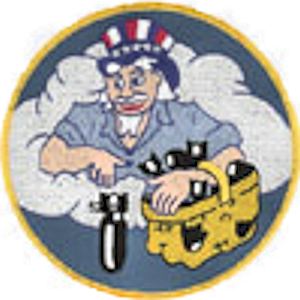 524th Bombardment Squadron - World War II squadron emblem