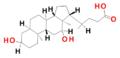 7α-Deoxycholic acid.png