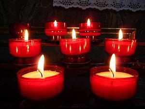 Deutsch: Opferlichter