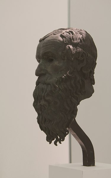 File:8366 - Ponticello philosopher in Reggio Calabria - Foto di Giovanni Dall'Orto, 26 ottobre 2016.jpg