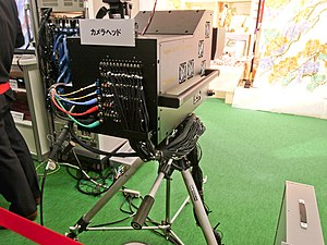 Ultra-high-definition television - Prototype camera head (2009)