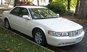 1998-2004 Cadillac Seville photographed in USA.