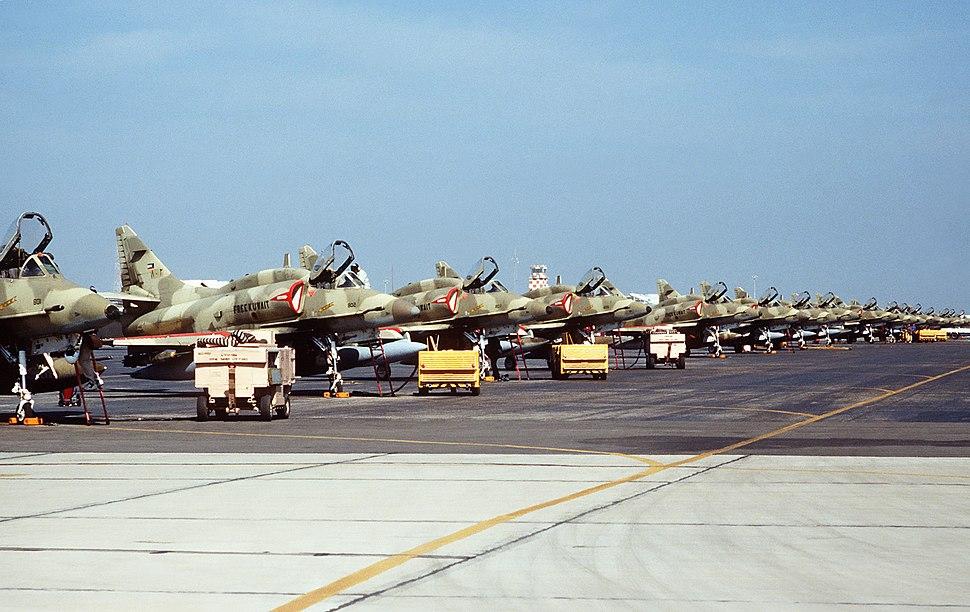 A-4KUs 13Feb1991
