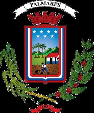 Palmares (canton) - Image: A1 escudo palmares