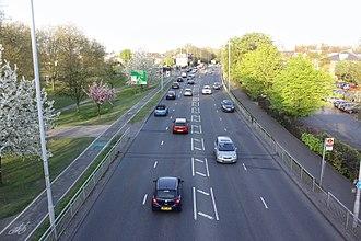 A316 road - Image: A316 Road