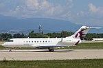 A7-CEI Bombardier BD-700-1A11 Global 5000 GL5T - QQE (21348742426).jpg
