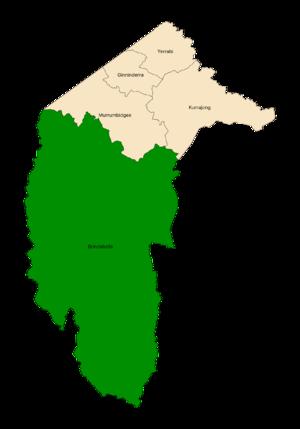 Brindabella electorate - Image: ACT Electorates 2016 Brindabella
