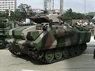 Malaysian Army - ACV 300 Adnan on display.