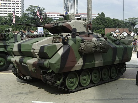 ACV 300 Adnan on display - Malaysian Army