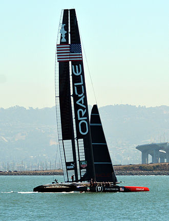 2013 America's Cup - AC 72 Team Oracle