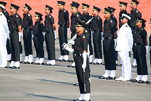 Armed Forces Medical College (India) - The only tri-service passing out parade in the world taking place at the AFMC
