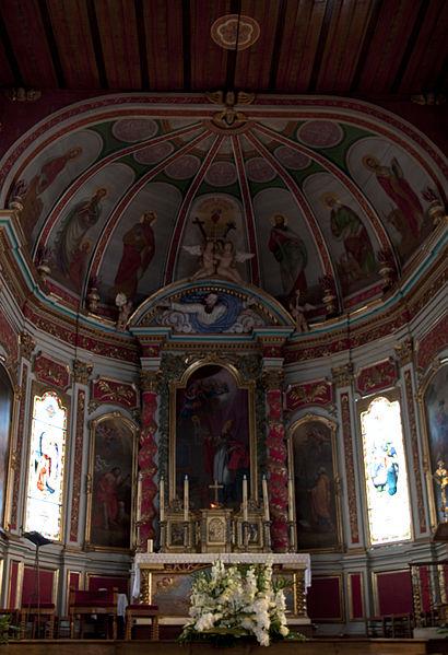 L'église Saint-Martin d'Ahetze se situe sur la commune d'Ahetze, dans le département français des Pyrénées-Atlantiques.