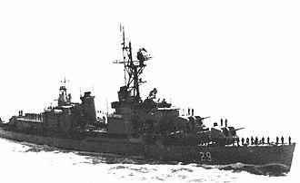 USS Collett - ARA Piedrabuena