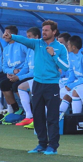 André Villas-Boas - Villas-Boas coaching Zenit in 2014.