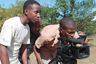 Cinema of Tanzania - A film crew in Tanzania