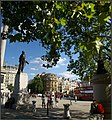 A peaceful moment in Trafalgar Square. Peter Neaum. - panoramio.jpg