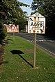 A road sign for Berwick - geograph.org.uk - 1513446.jpg