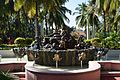 A sculpture at Golden Palms resort, Bangalore.jpg