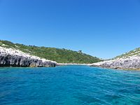 A small passage in Paxos island, Greece.JPG