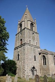 Barnack village in the United Kingdom