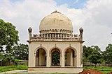 A tomb in Qutb Shahi complex 5.jpg