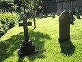 A verdant churchyard at St Andrew, Hope Bowdler - geograph.org.uk - 1446089.jpg