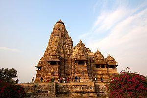 Vidyadhara (Chandela king) - Kandariya Mahadeva Temple, commissioned by Vidyadhara