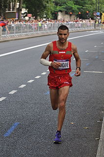 Moroccan marathon runner and 2008 Olympian