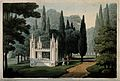 Abelard and Heloise; monument at the monastery of La Trappe, Wellcome V0018680.jpg