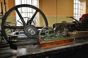 English: Abell Steam Engine