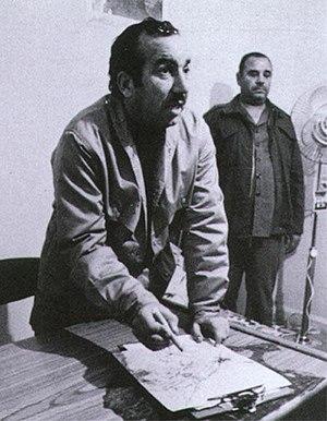 Khalil al-Wazir - Khalil al-Wazir strategizing