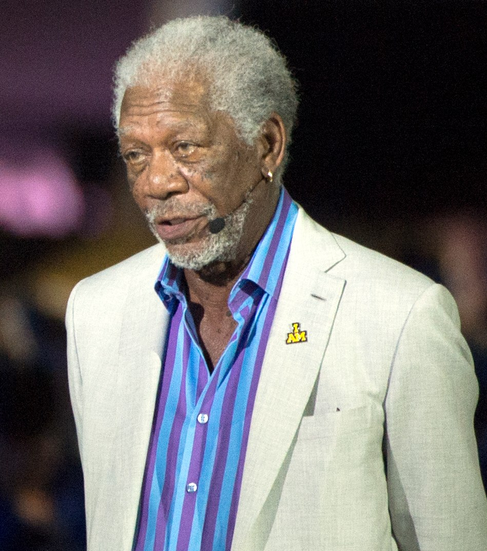 Academy Award-winning actor Morgan Freeman narrates for the opening ceremony (26904746425) (cropped)