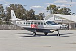 Acena Nominees, operated by Pay's Helicopters as Birddog 375, (VH-TFV) Textron Aviation 208B Grand Caravan at Wagga Wagga Airport.jpg