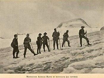 Achille Ratti Alps