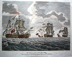 Action du capitaine Elliot contre Thurot fevrier 1760.jpg