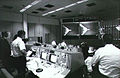 Activity in the Mission Control Room during launch of Apollo 4.jpg
