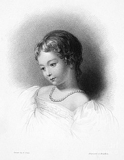 Ada Lovelace as a child
