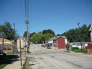 Adamsburg, Pennsylvania - Main Street