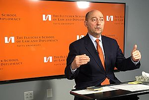 James G. Stavridis - Admiral Stavridis in the remote studio at The Fletcher School