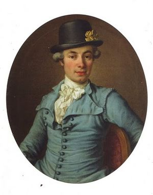 1780 in Sweden - Adolf Ludvig Stierneld by Ulrika Pasch