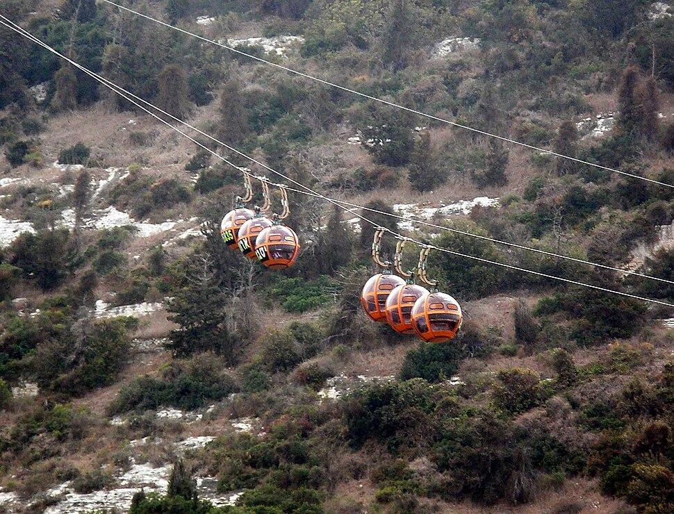 Aerial tramway of Haifa
