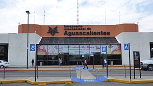 Aguascalientes International Airport - Image: Aeropuerto Internacional de Aguascalientes 05