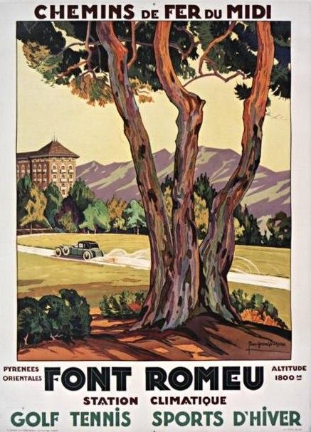 Affiche CM Font-Romeu Roux