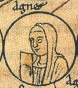 Agnes of Burgundy, Duchess of Aquitaine - Image: Agnès de Bourgogne