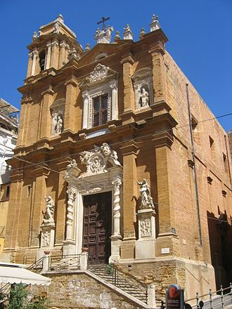 Agrigento - St Lawrence Church.
