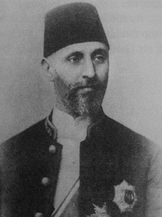 Ahmet Tevfik Pasha - Image: Ahmet tevfik pasa