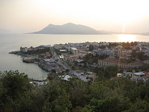 Euboea - View of Aidipsos
