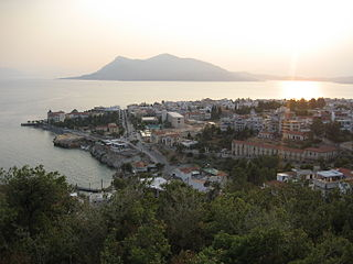 The second-largest Greek island in area and population, after Crete