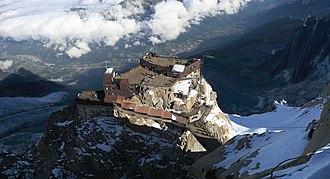 Aiguille du Midi - Image: Aiguille Du Midi TM